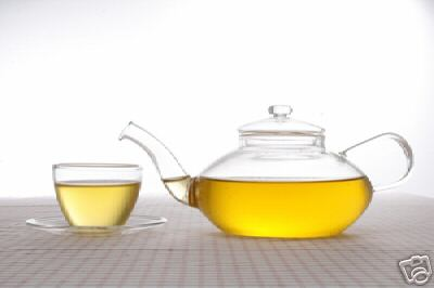 21 oz Ultra Clear Glass Teapot with Infuser